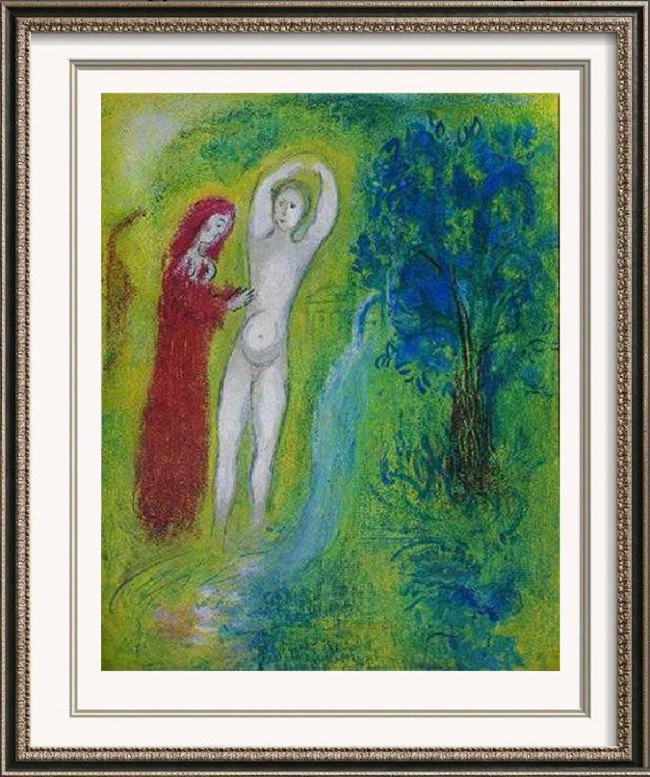 MARC CHAGALL HUGE DISCOUNT FANTASTIC COLORED LITHOGRAPH