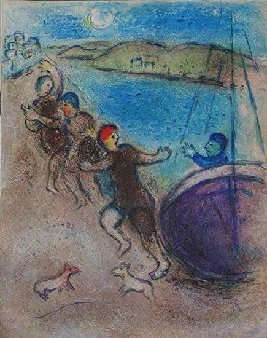 """Marc Chagall """"After"""" Low Price Colored Lithograph Sale - 2"""