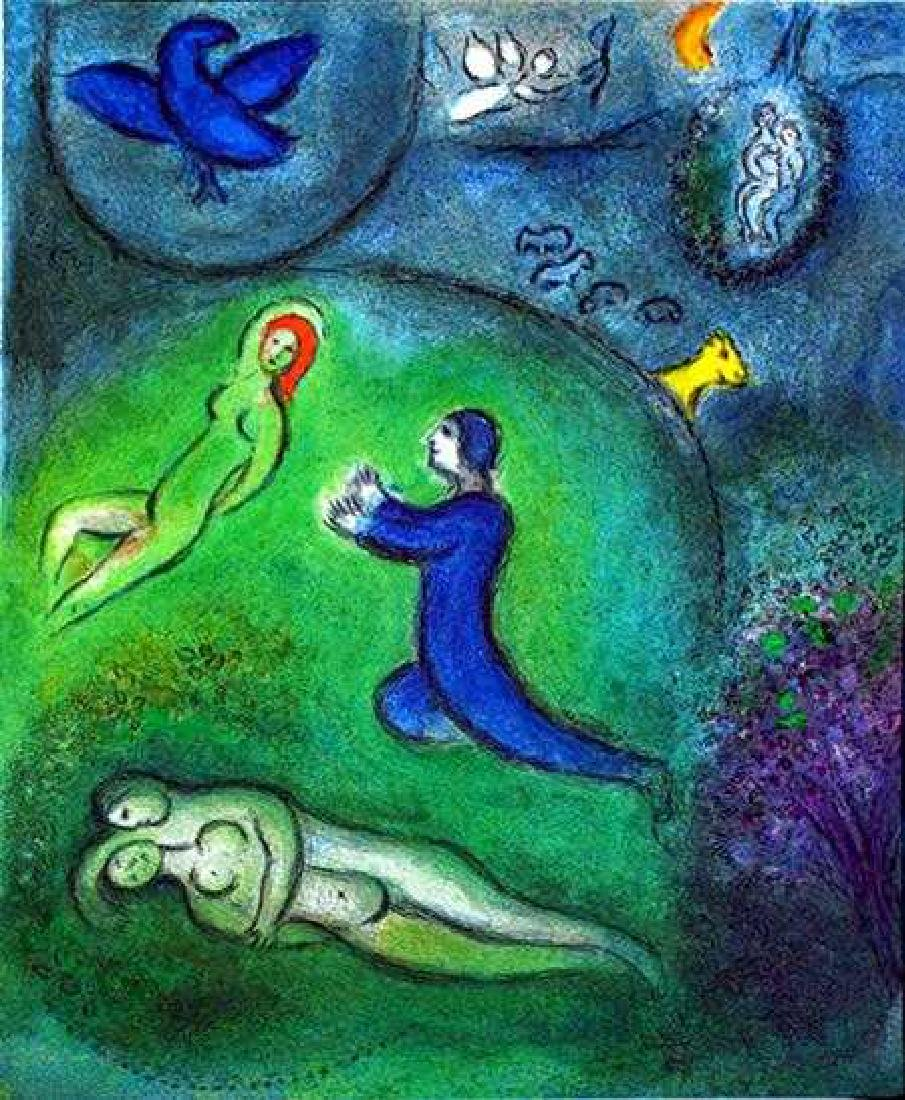 """Marc Chagall """"After"""" Fantastic Colored Lithograph Sale - 2"""