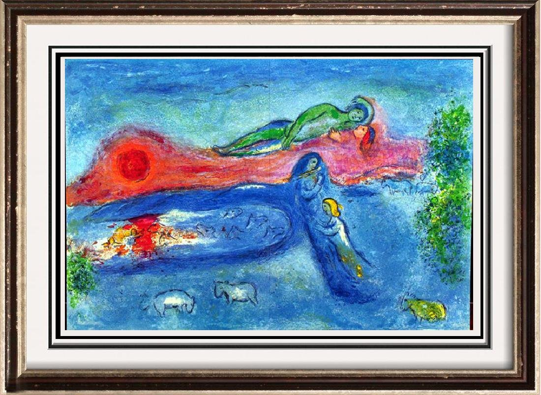 "Colored Chagall ""After"" Lithograph Dealer Liquidates"