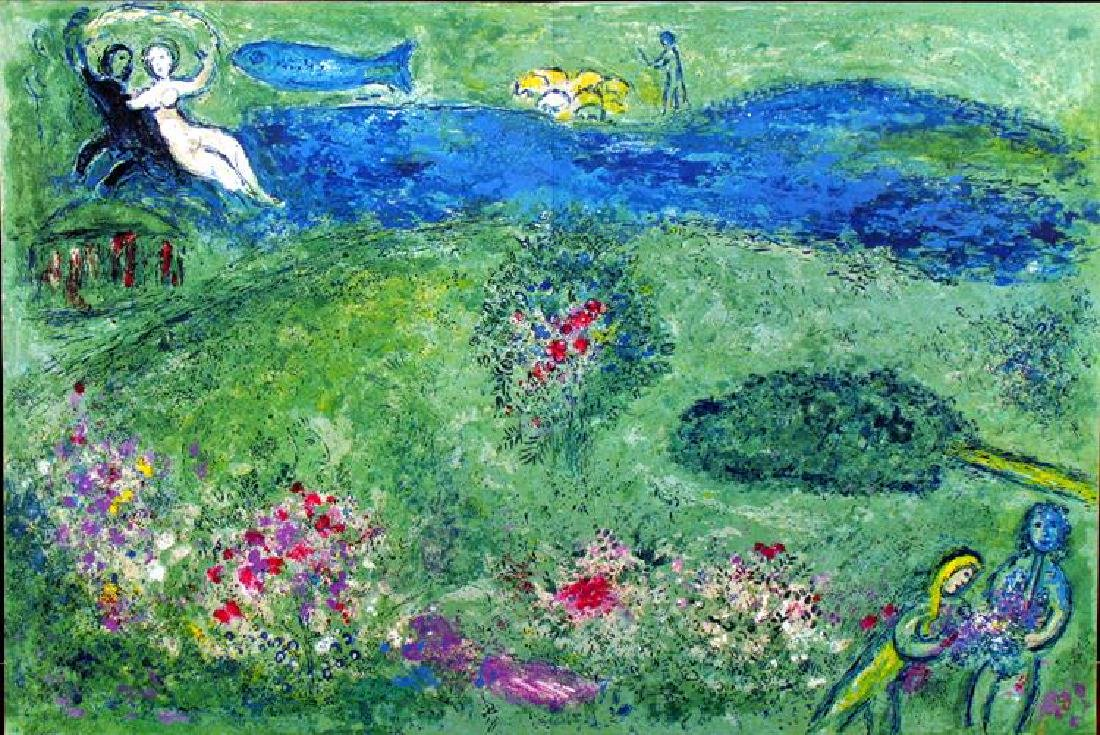 """Chagall """"After"""" Art For Sale Wholesale Abstract - 2"""