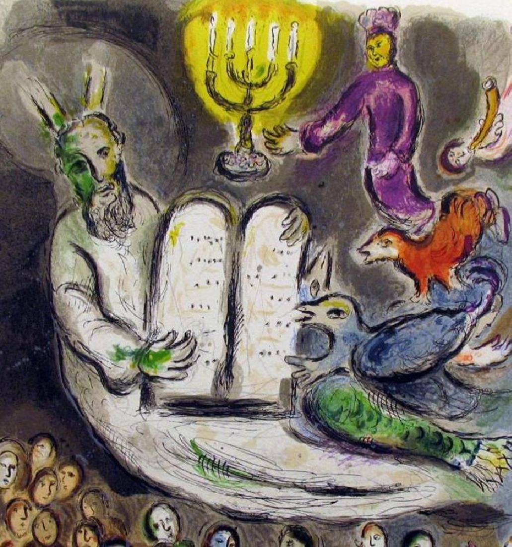 MARC CHAGALL FANTASTIC COLORED LITHOGRAPH SALE - 3