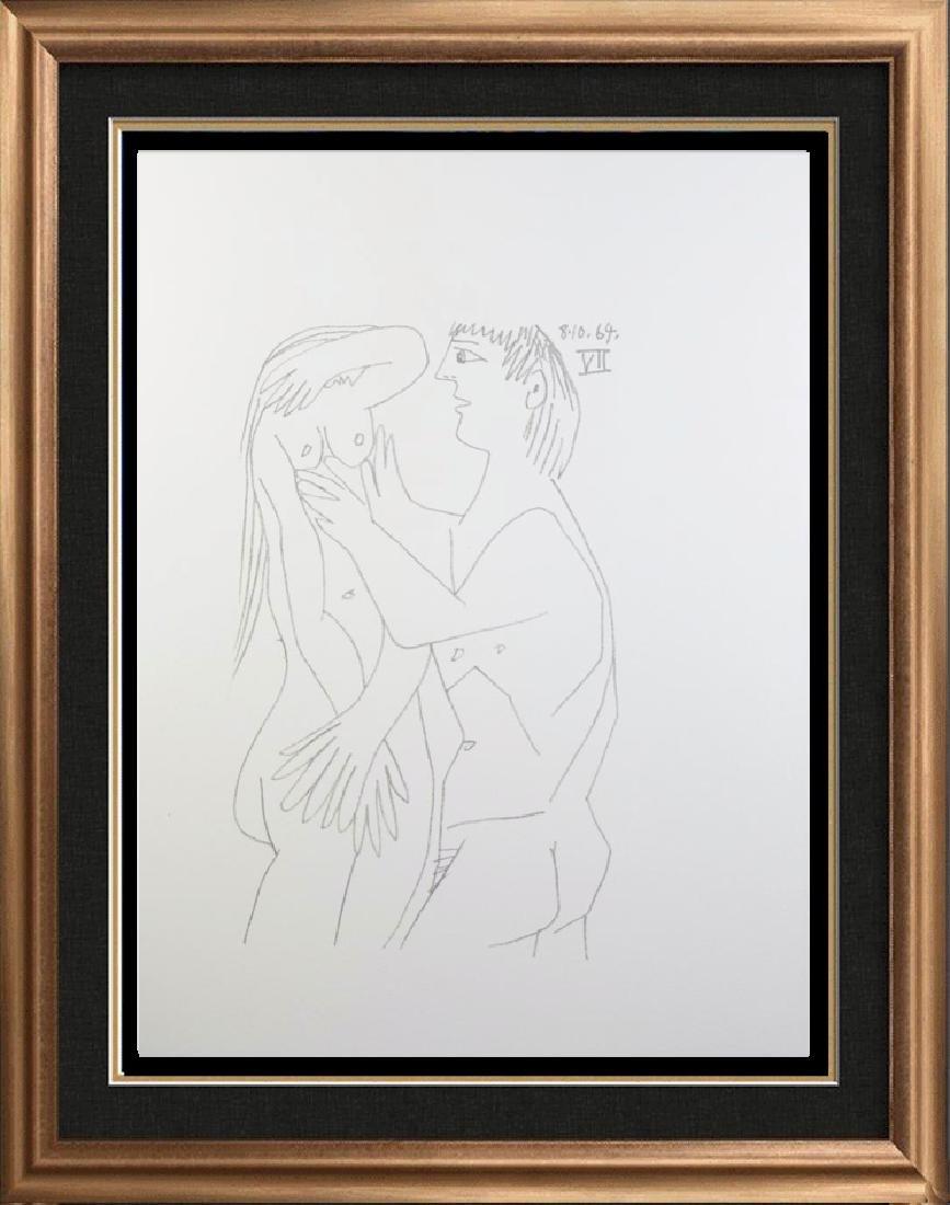 Rare Picasso C.1964 Erotic Limited Dealer Liquidation
