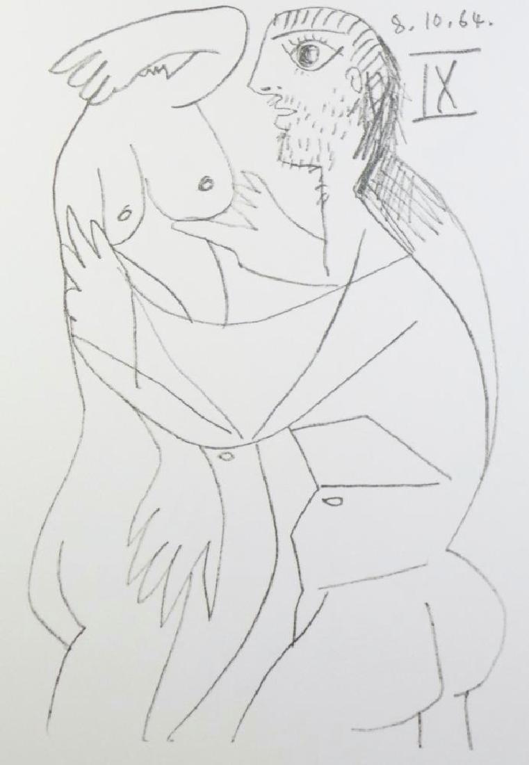 Rare Picasso C.1964 Erotic Limited Dealer Liquidation - 3