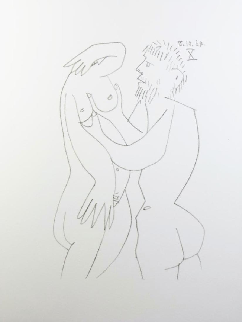 Pablo Picasso 1964 Lithograph Erotic Rare - 2