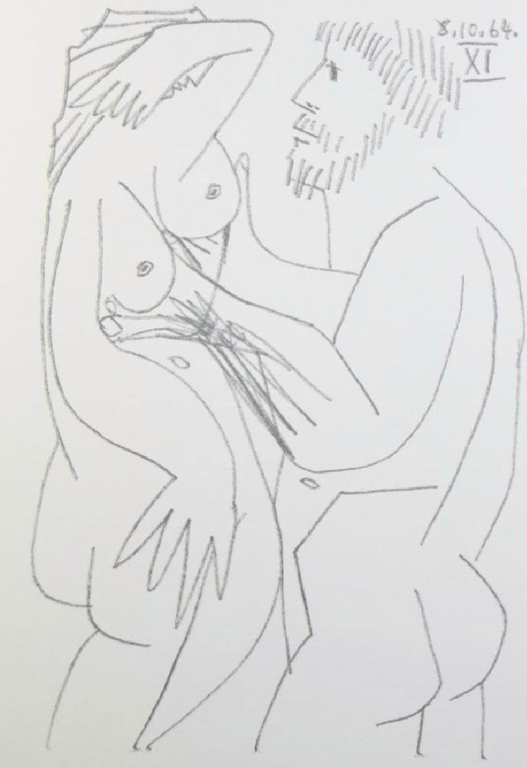 Rare Picasso C.1964 Erotic Limited Dealer Liquidation - 3