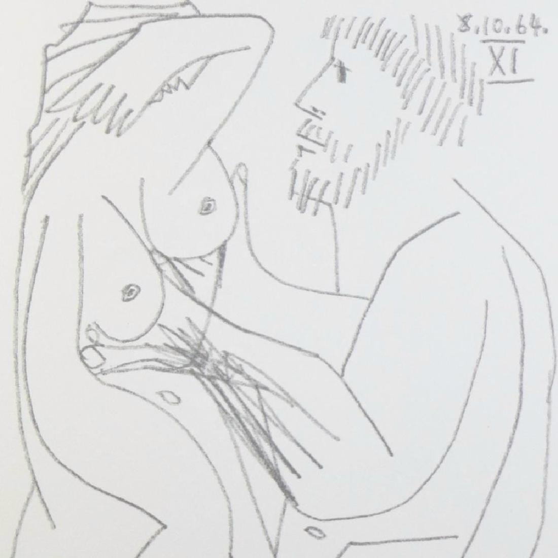 Rare Picasso C.1964 Erotic Limited Dealer Liquidation - 4