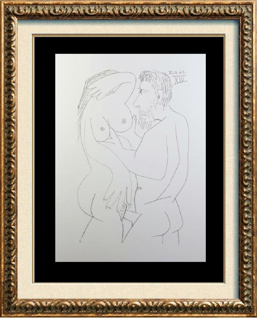 Rare Picasso C.1964 Erotic Limited Dealer Liquidation
