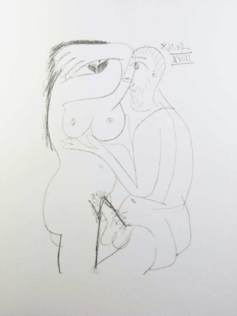 Rare Picasso C.1964 Erotic Limited Dealer Liquidation - 2