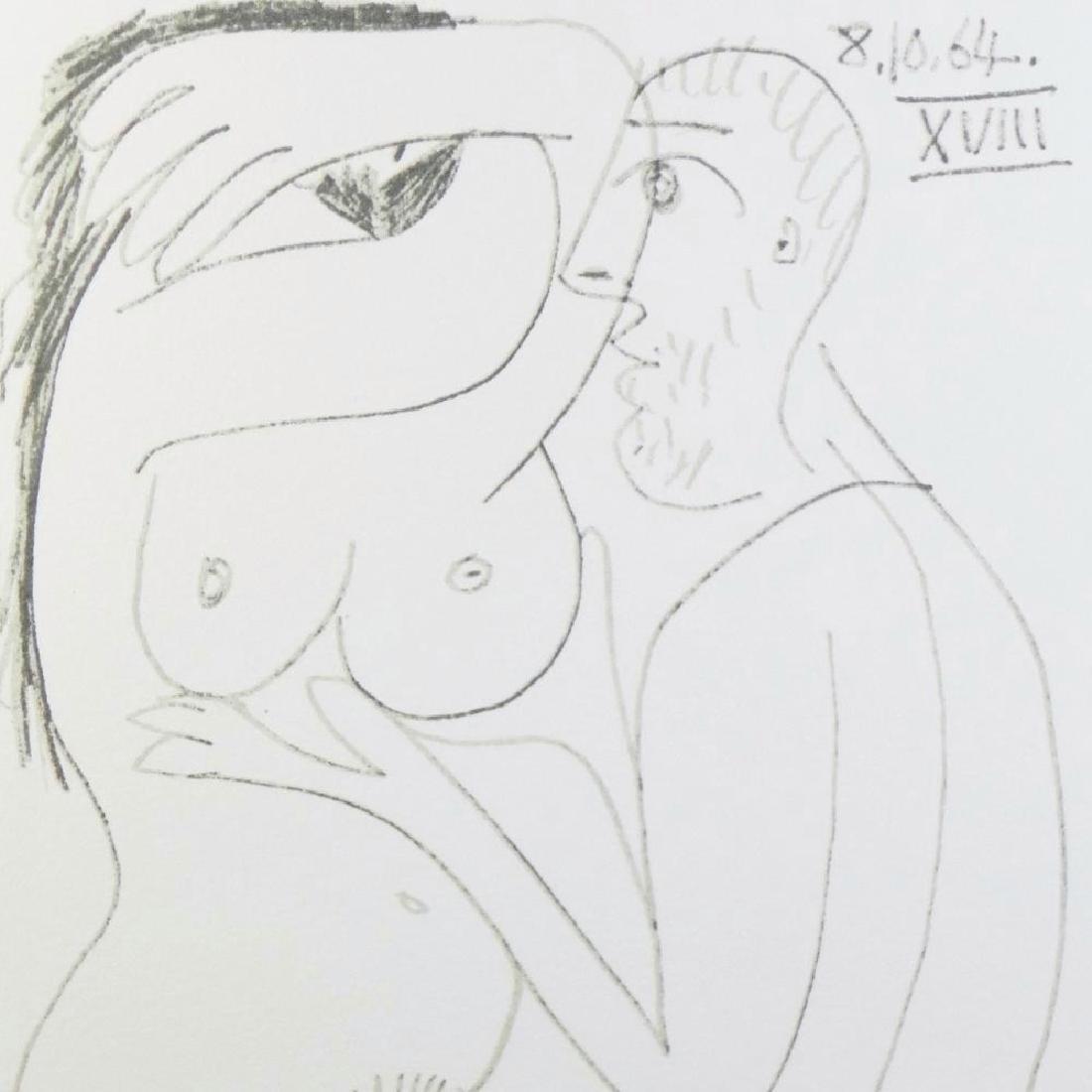 Rare Picasso C.1964 Erotic Limited Dealer Liquidation - 4