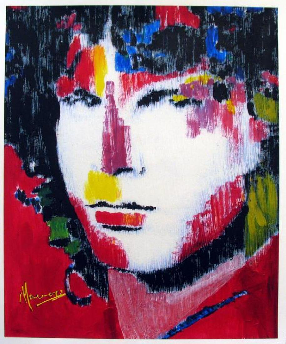 Jim Morrison Signed Limited Edition Pop Ap Giclee Sale - 2