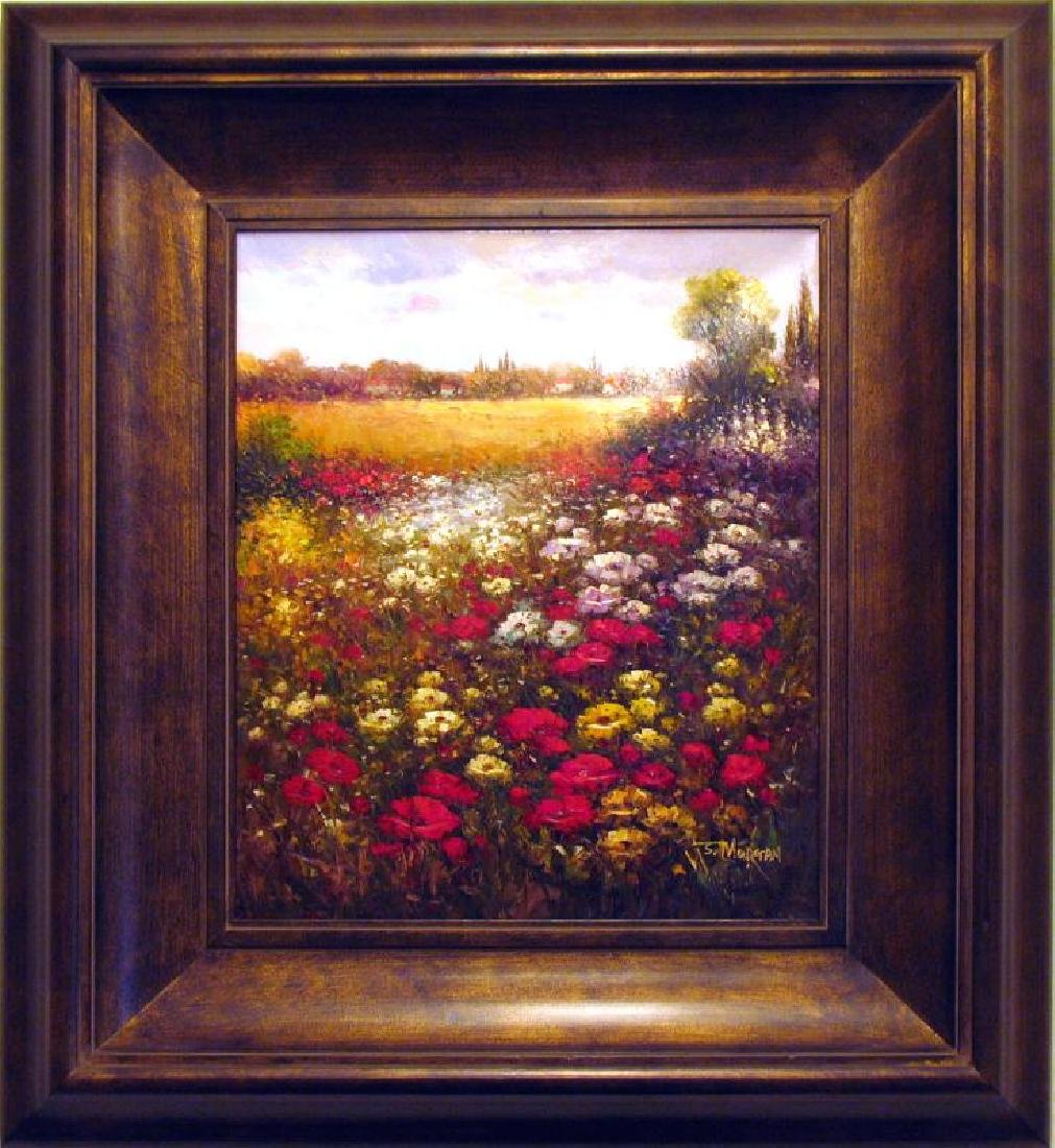 Floral FRAME Colorful Texture Flower Field Dealer