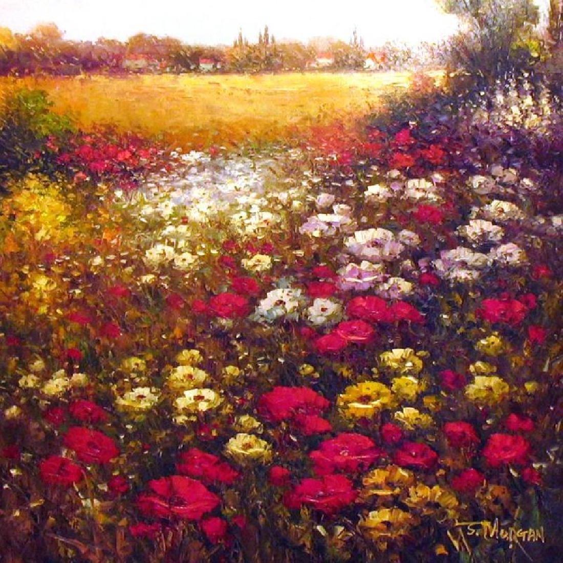 Floral FRAME Colorful Texture Flower Field Dealer - 2