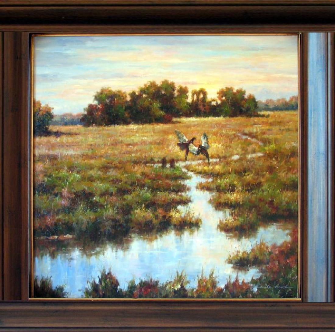 Everglades Wildlife Birds Landscape Low Country