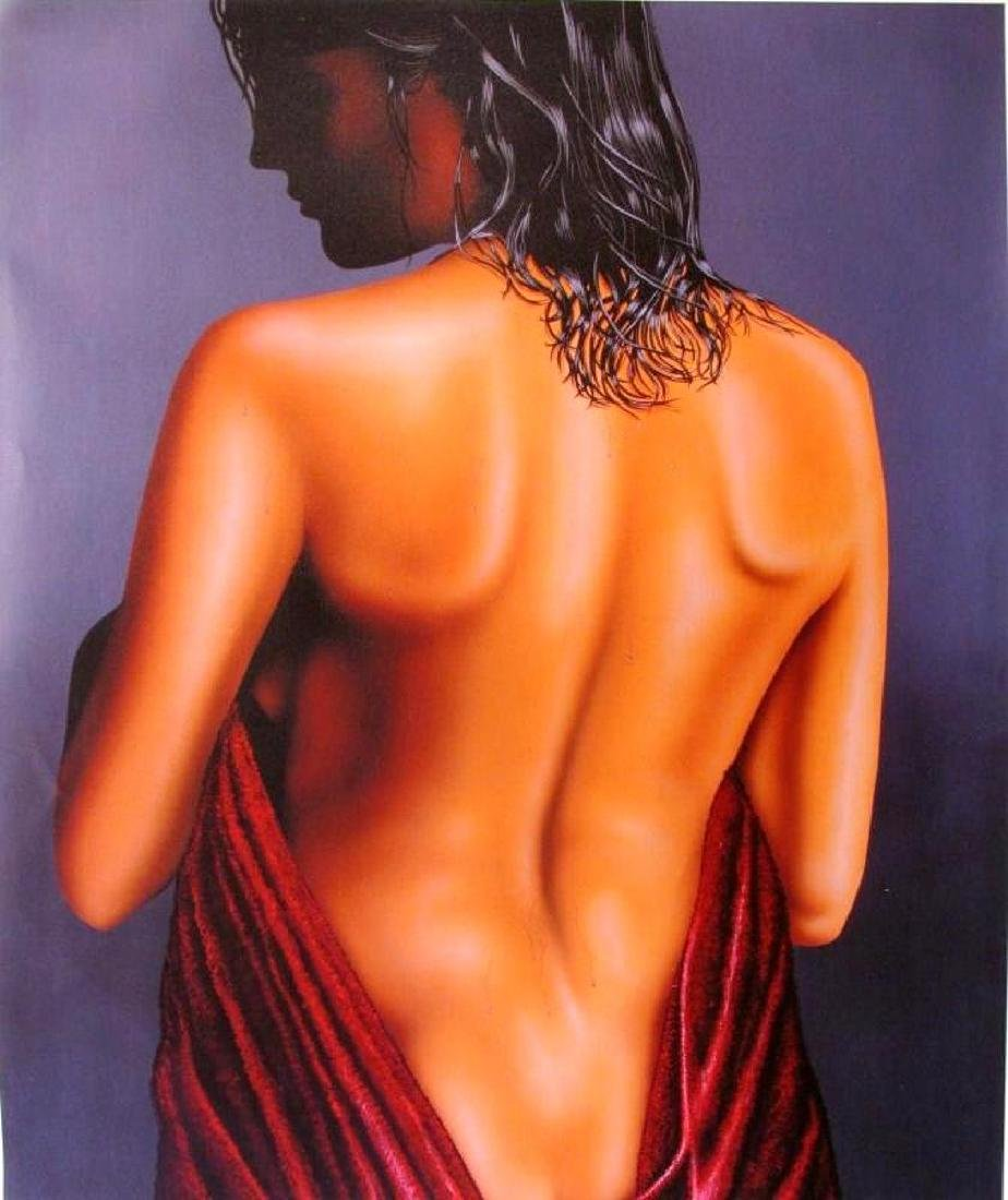 Large Nude Giclee Signed Limited Edition Realism