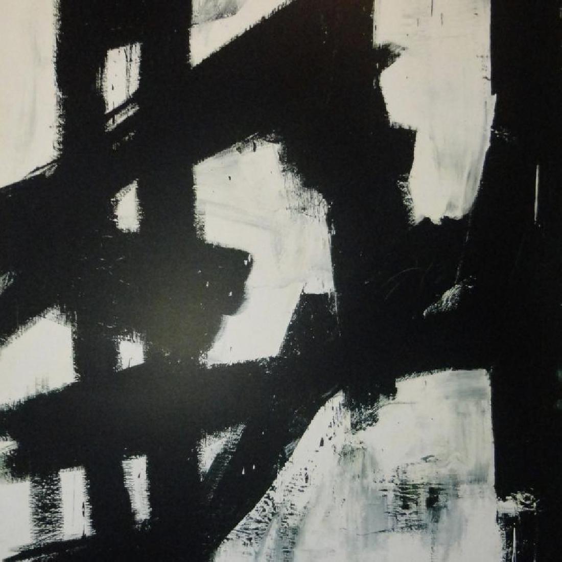 Abstract Kline Modern Art Print Sale - 2
