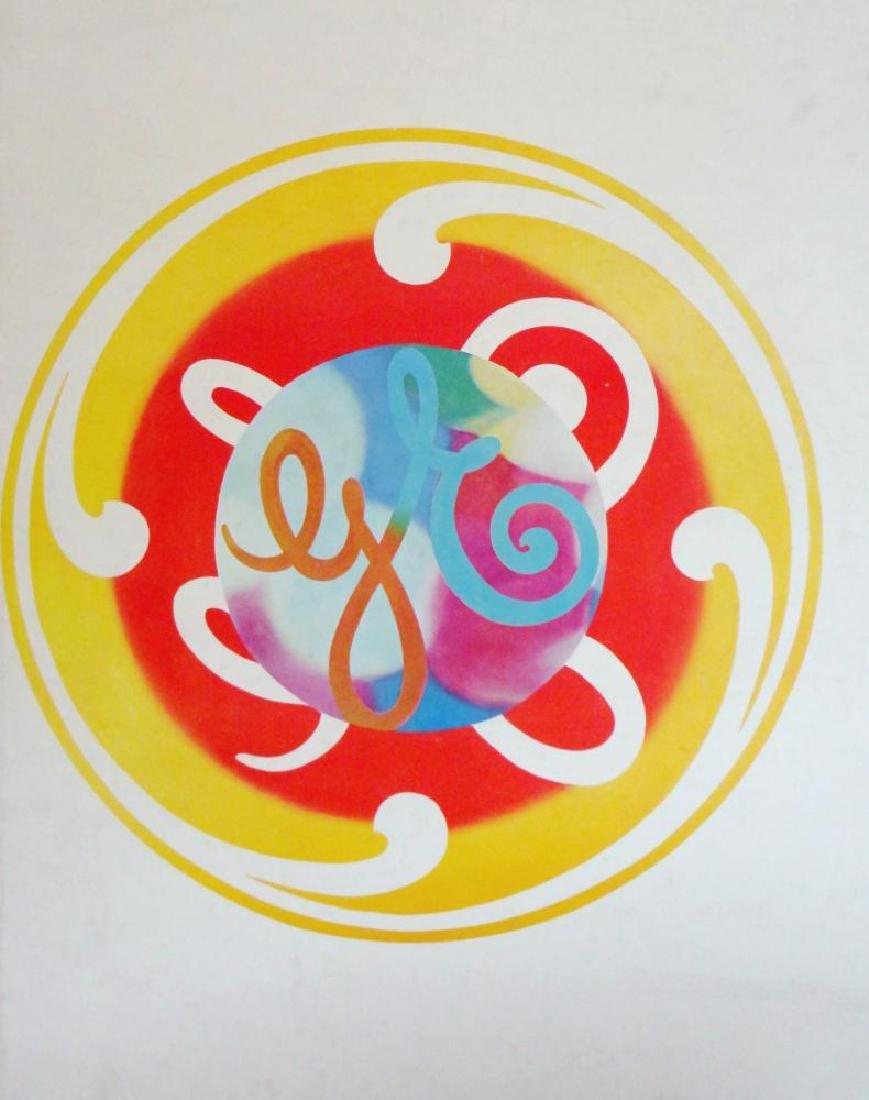James Rosenquist GE Poster Logo Rare Collectible - 2