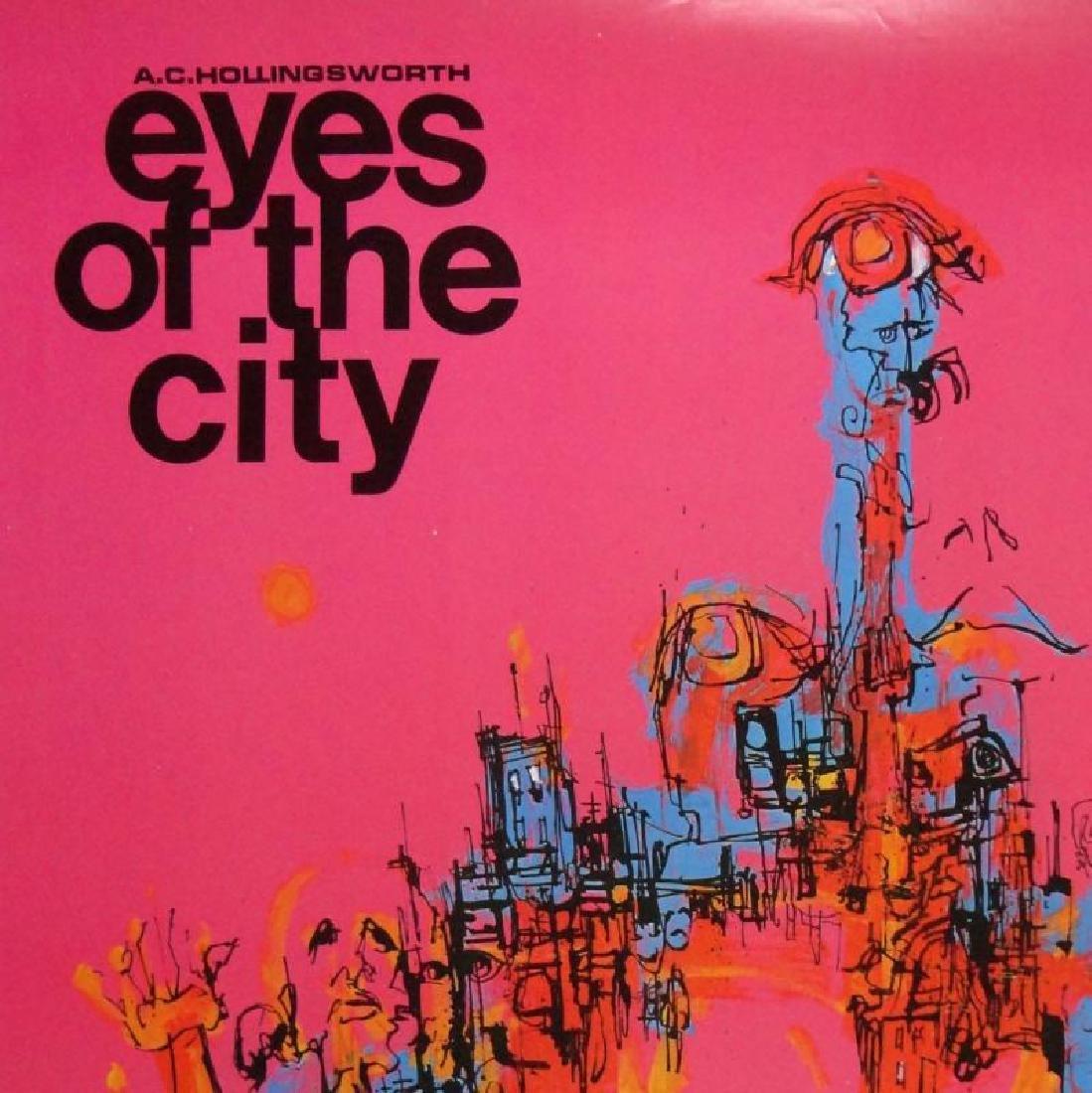 Hollingsworth Eyes of the City Art Print - 2