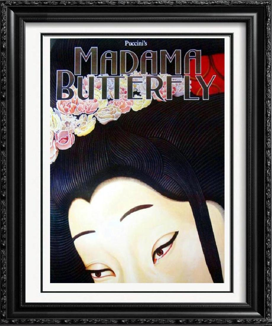 Madama Butterfly Colorful Asian Style Theatre Print