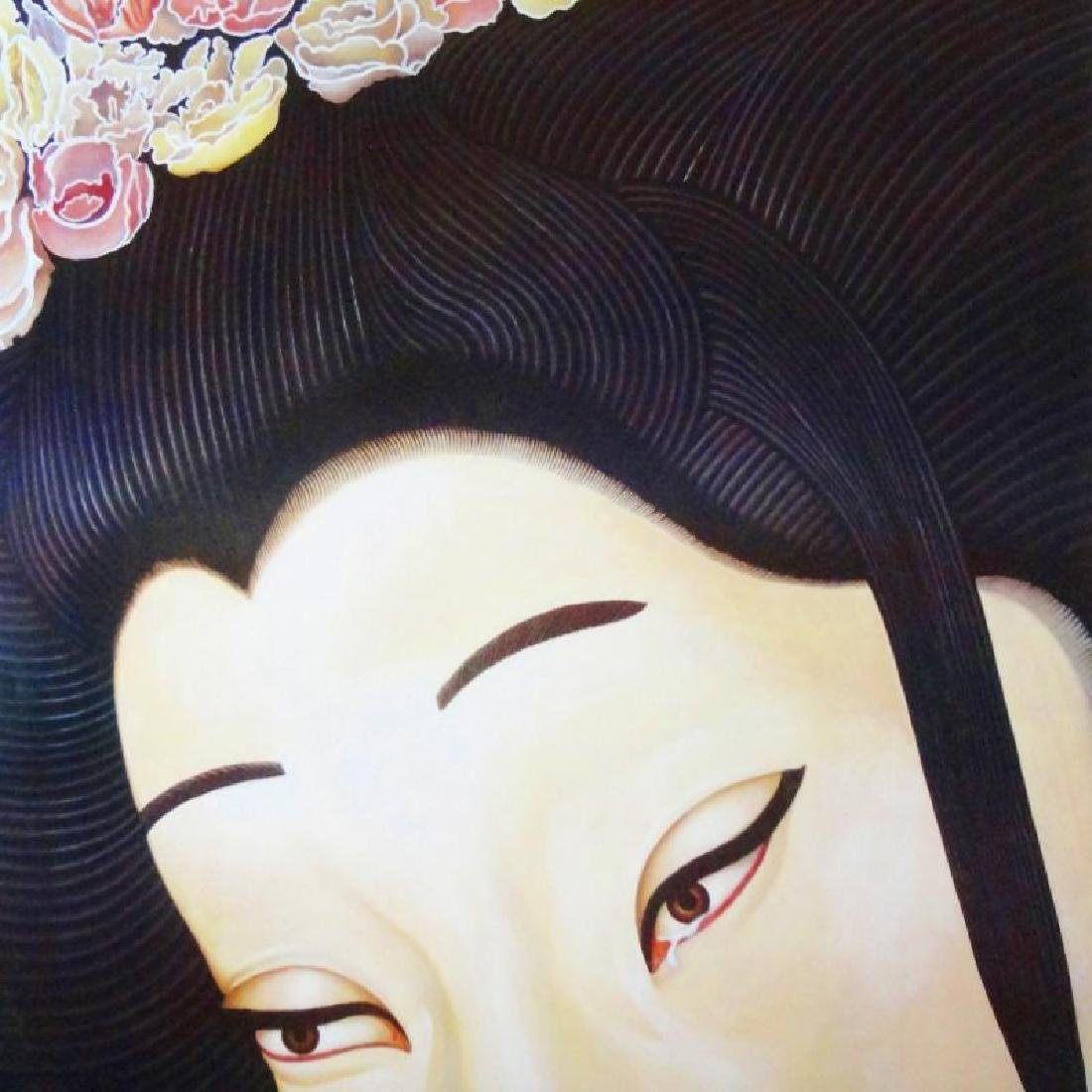 Madama Butterfly Colorful Asian Style Theatre Print - 3
