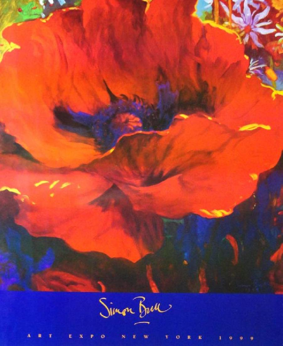 Simon Bull Large Floral Colorful Great Value