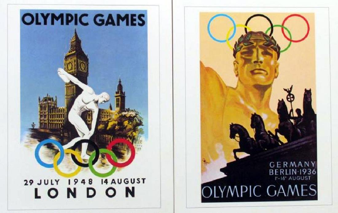 Collection of 24 Official Olympic Print Set Awesome - 10
