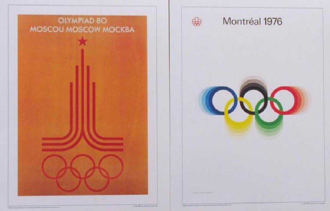 Collection of 24 Official Olympic Print Set Awesome - 3
