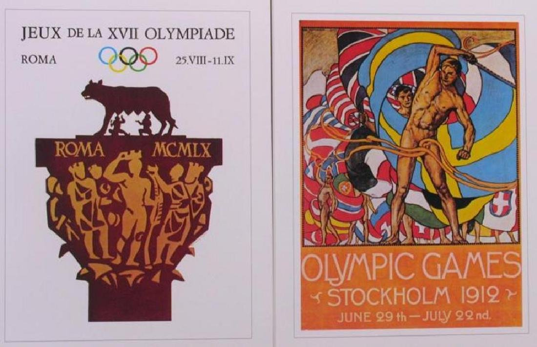 Collection of 24 Official Olympic Print Set Awesome - 7