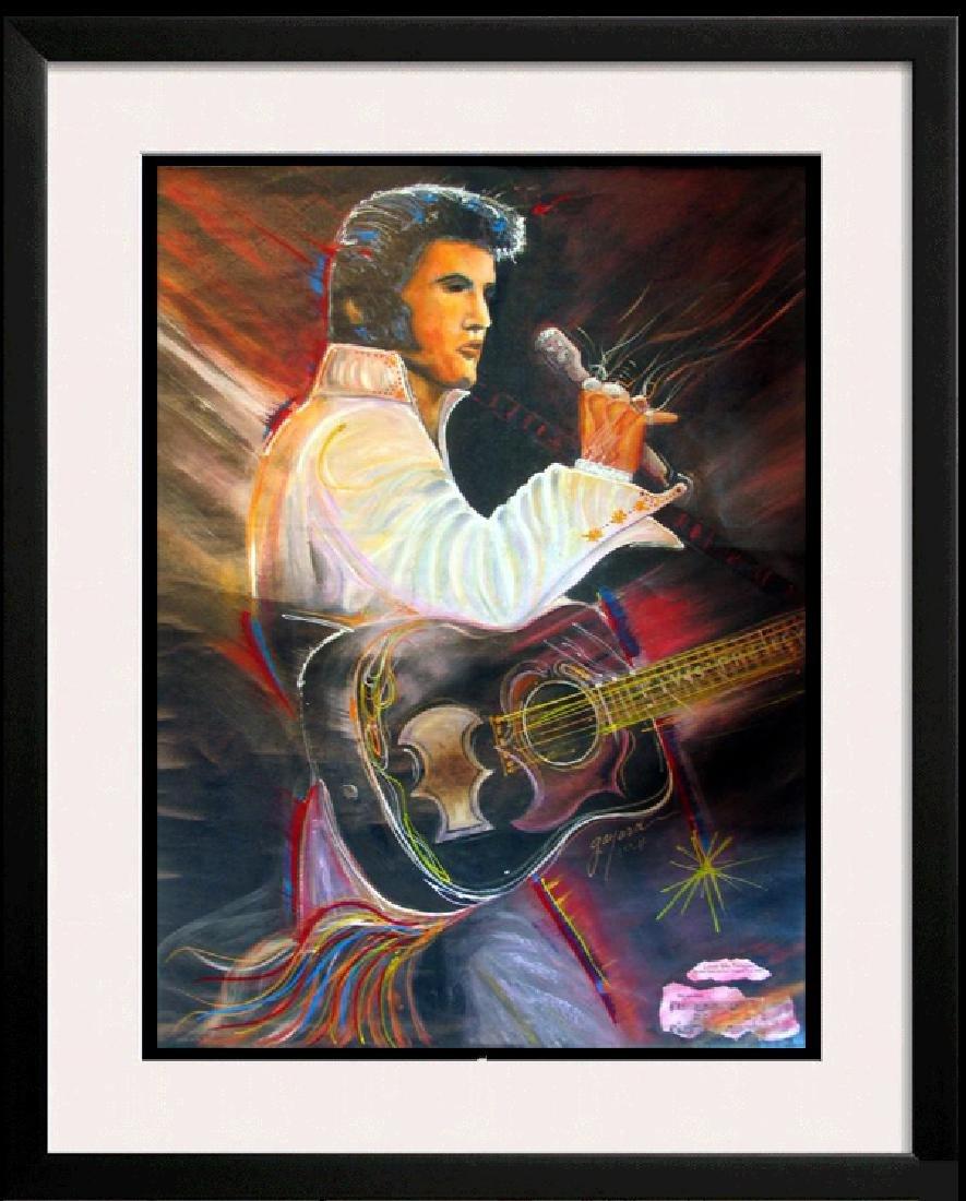 ELVIS Love Me Tender SOLI Signed Ltd Ed Canvas 40x30