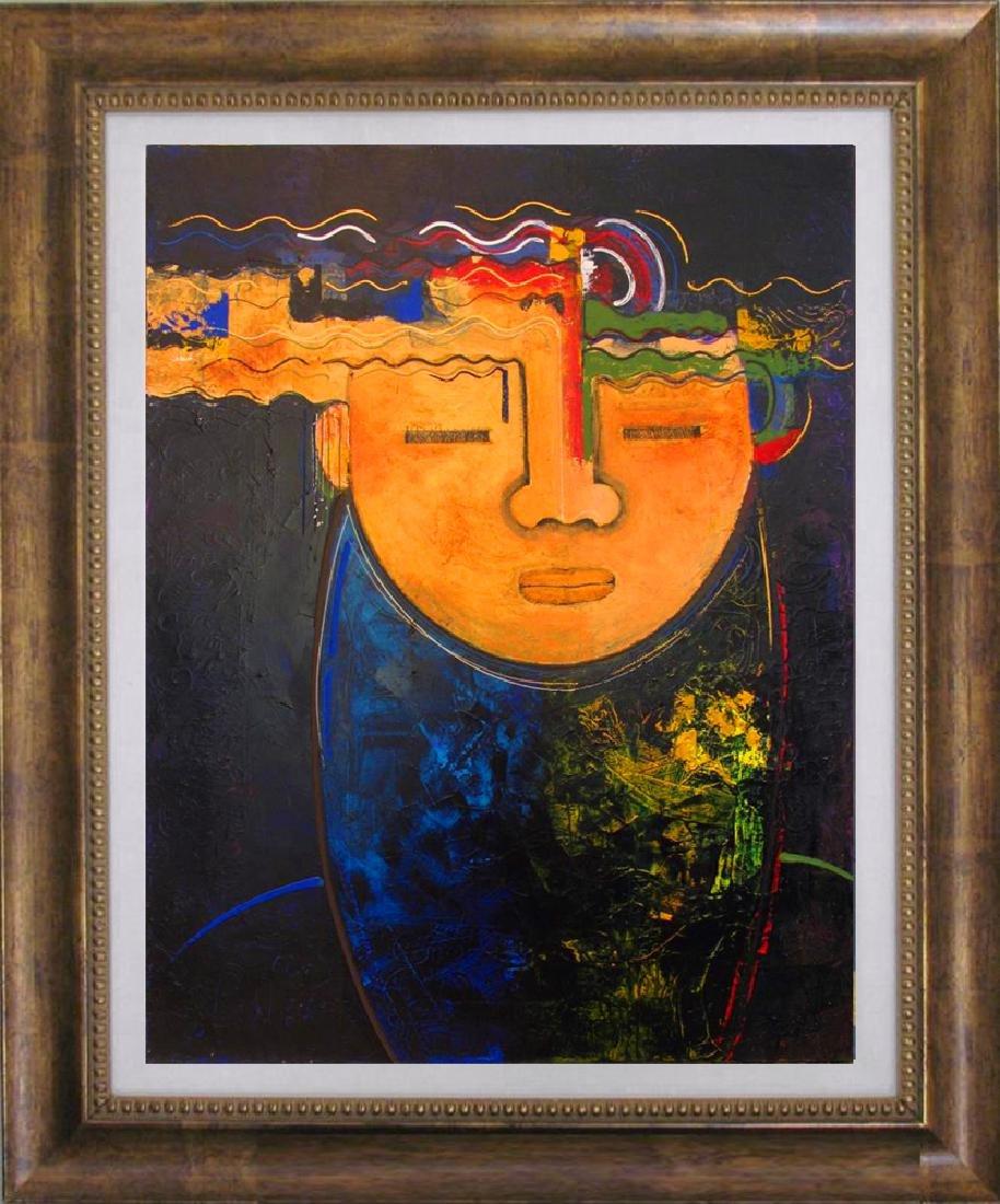 Contemporary Abstract Original Ready To Hang Canvas