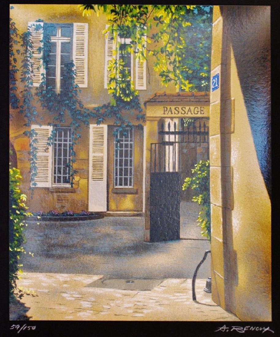 Andre Renoux Signed Ltd Ed Art SALE