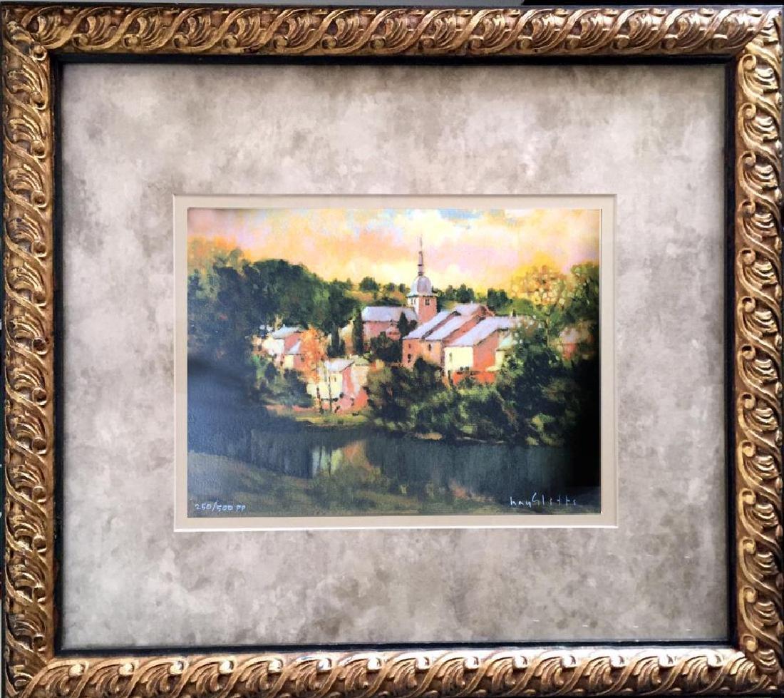 Hayslette Landscape Signed Limited Edition Framed Ready