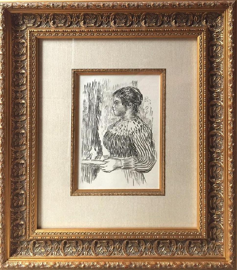 RARE c.1919 Pierre Auguste Renoir Lithograph after the