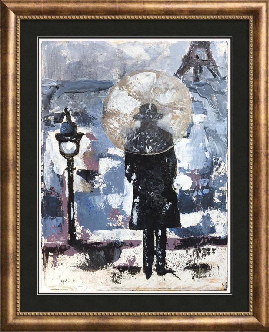 Evening in Paris Textured Original Acrylic Palette - 6