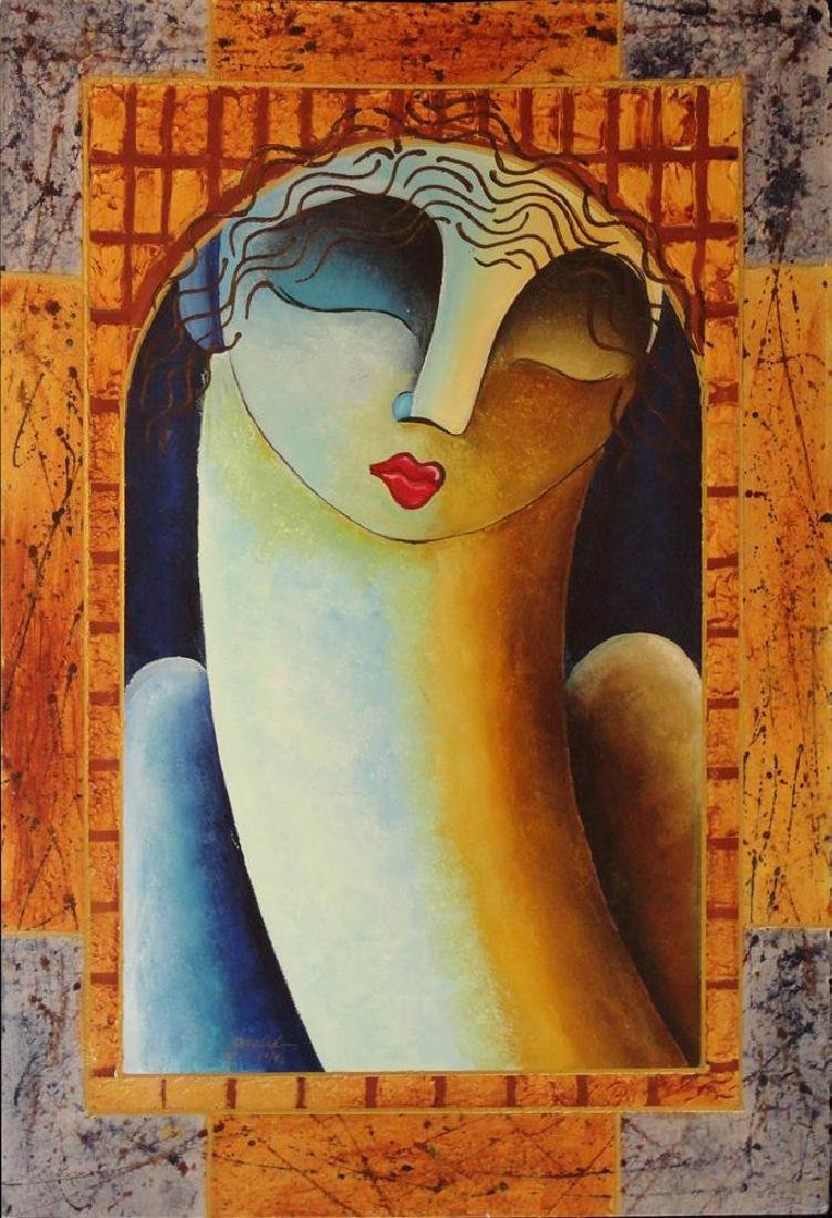 Woman Figure Modern Earth Tone Contemporary Modern - 2