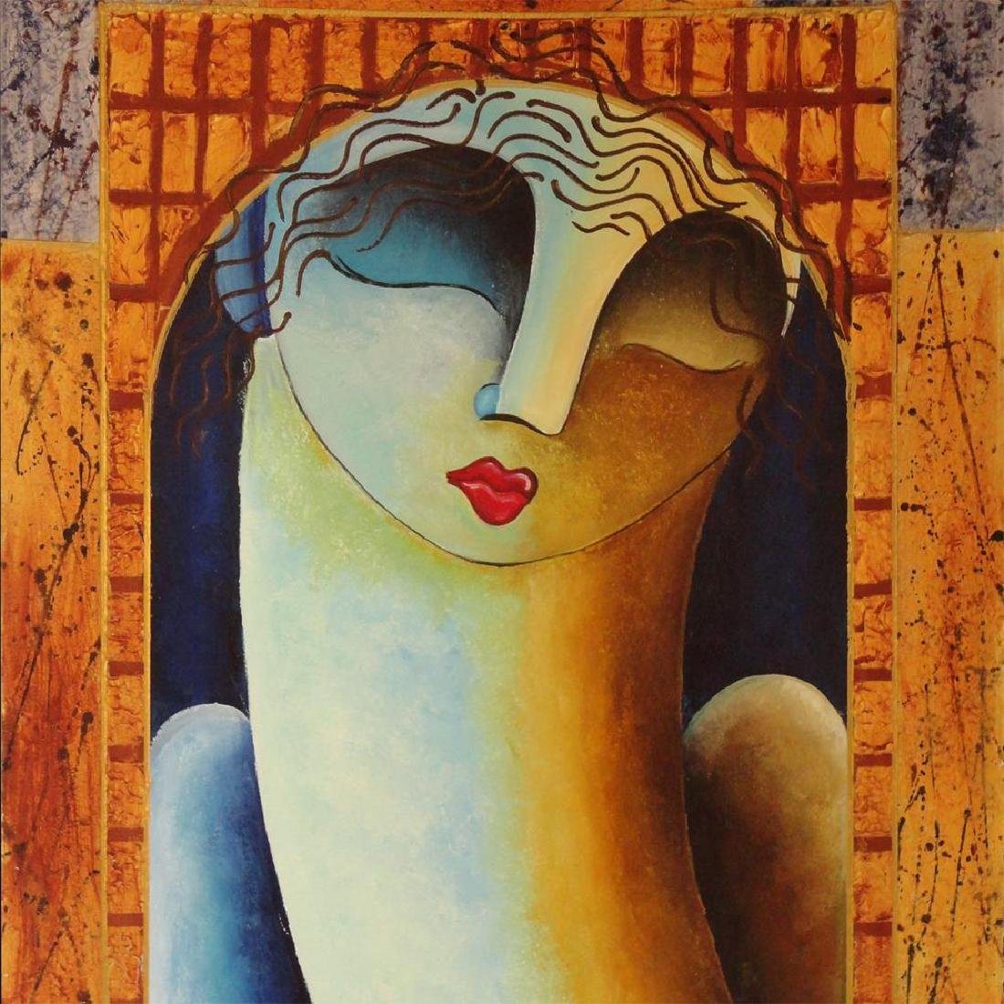 Woman Figure Modern Earth Tone Contemporary Modern - 3