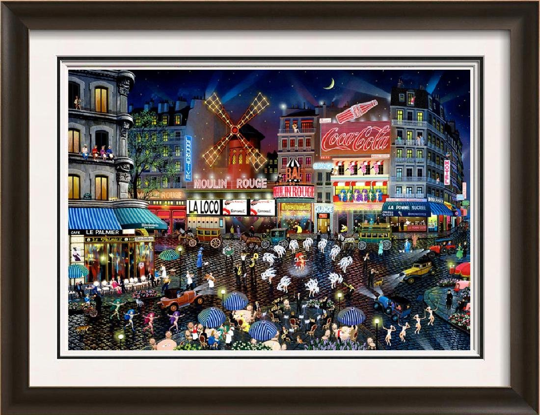Moulin Rouge Limited Edition Pop Art