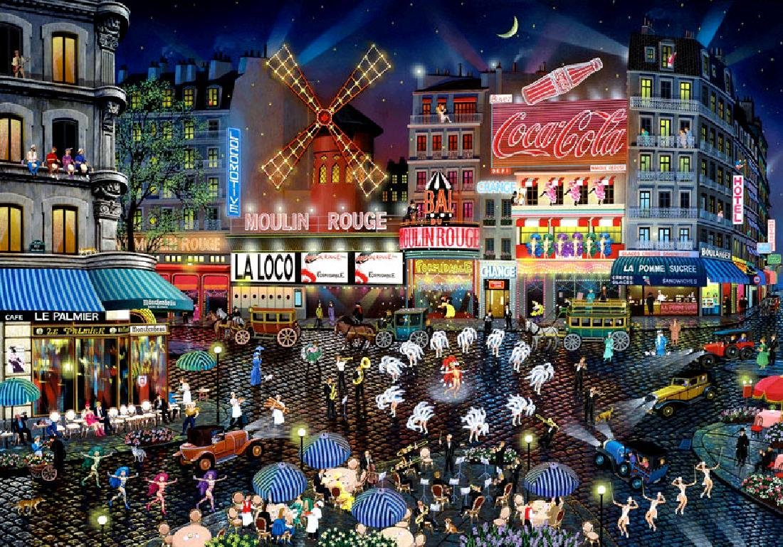 Moulin Rouge Limited Edition Pop Art - 2