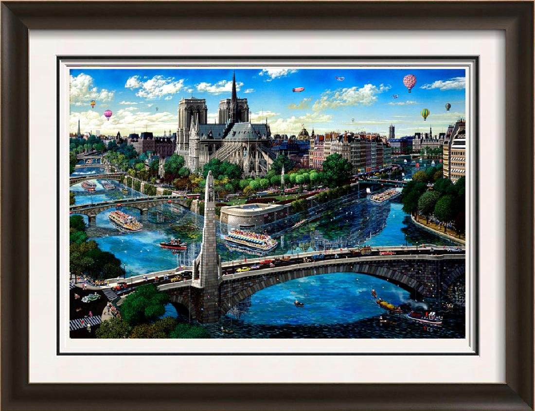 Notre Dame Limited Edition Signed Art