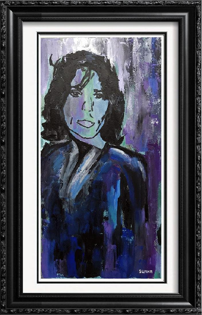 Mick Jagger Pop Art Original Painting on Canvas