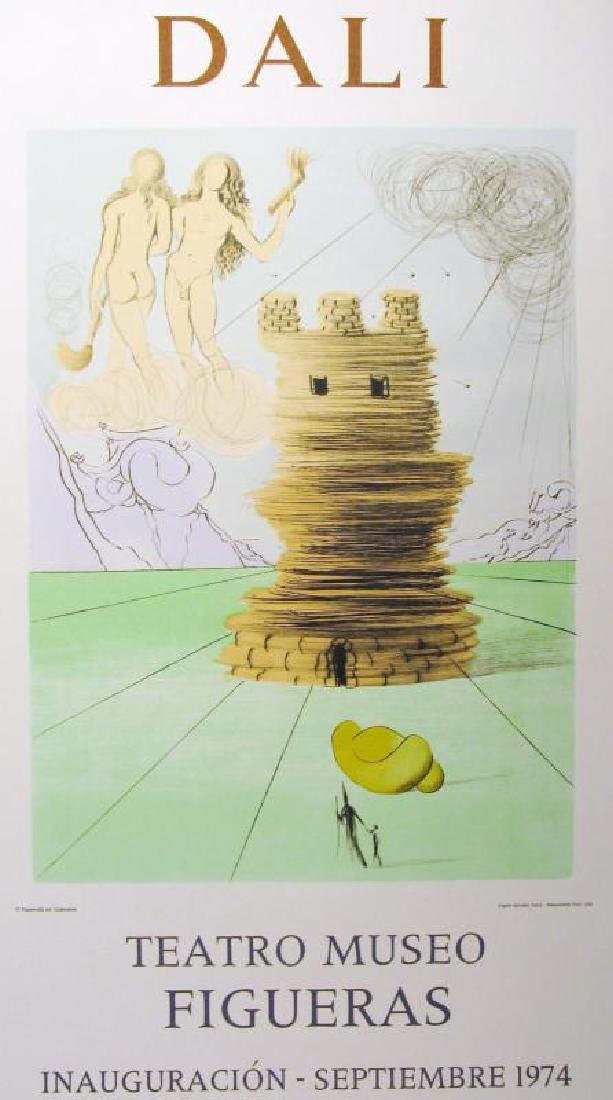 Salvador Dali Surreal Abstract Lithographic Poster Sale - 2
