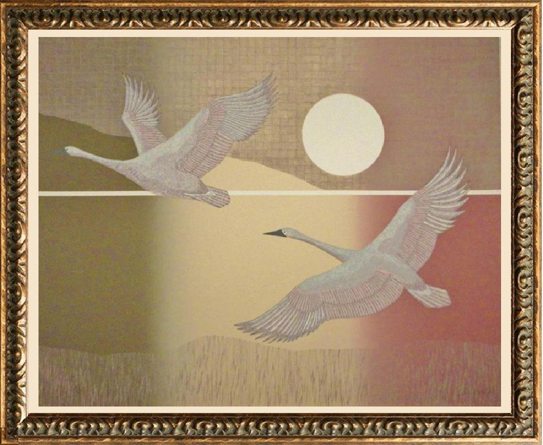 Birds In Flight Abstract Limited Edition Dealer Sale