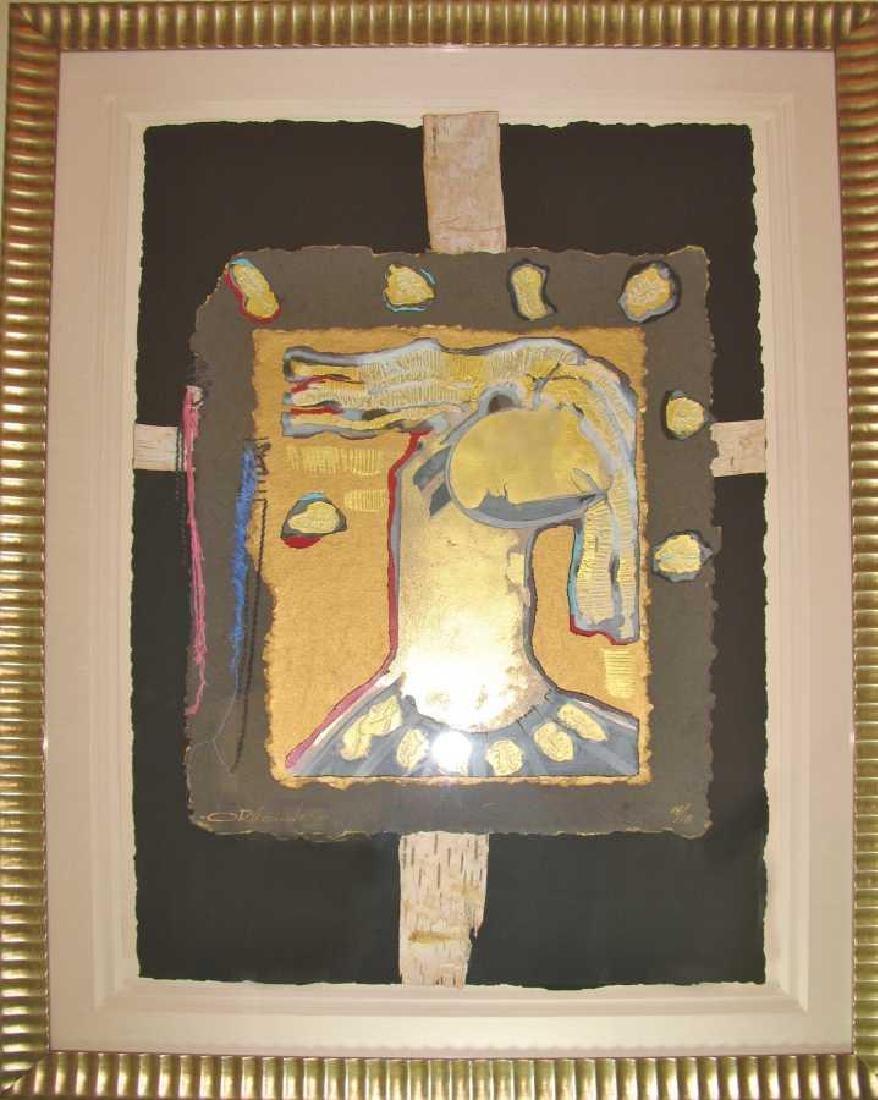 Orlando Agudelo Botero Offering Framed Rare Find Estate
