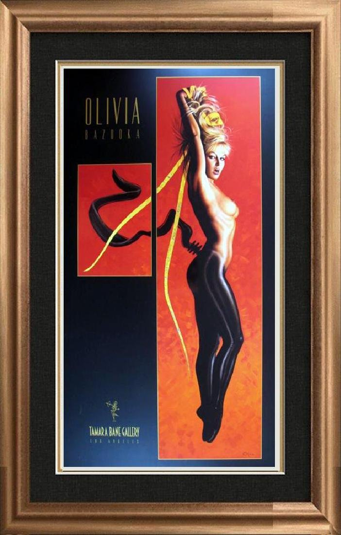 Olivia Pin Up Print Erotic Nude Large Dealer