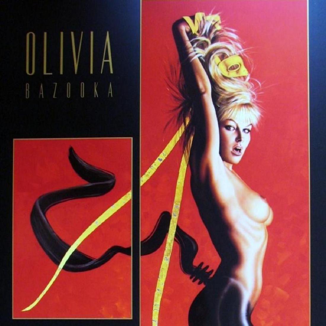 Olivia Pin Up Print Erotic Nude Large Dealer - 2