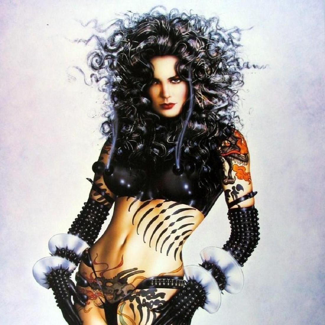 Olivia Pin Up Print Erotic Nude Large Dealer - 3