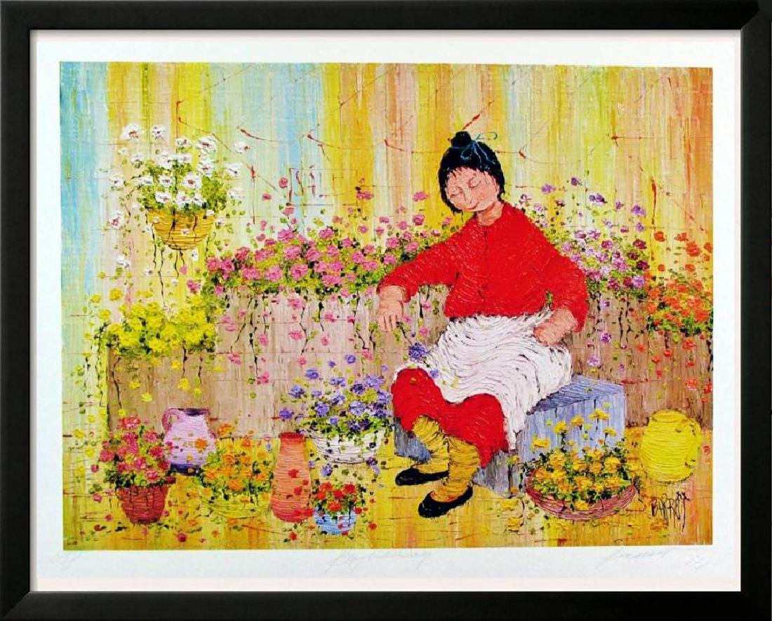 Asian Whimsical Art Print Only $10 Colorful