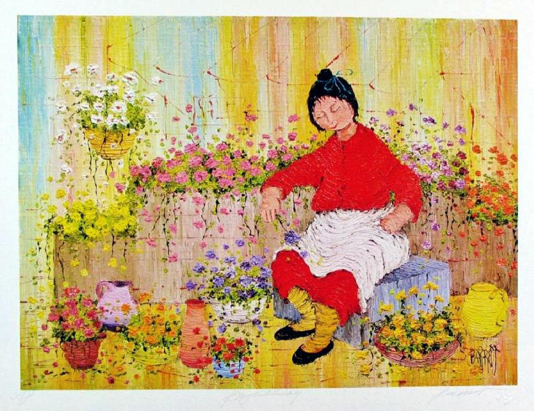 Asian Whimsical Art Print Only $10 Colorful - 2
