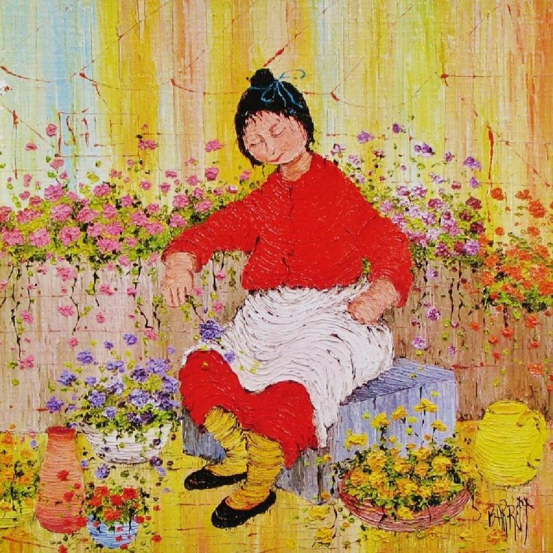 Asian Whimsical Art Print Only $10 Colorful - 4