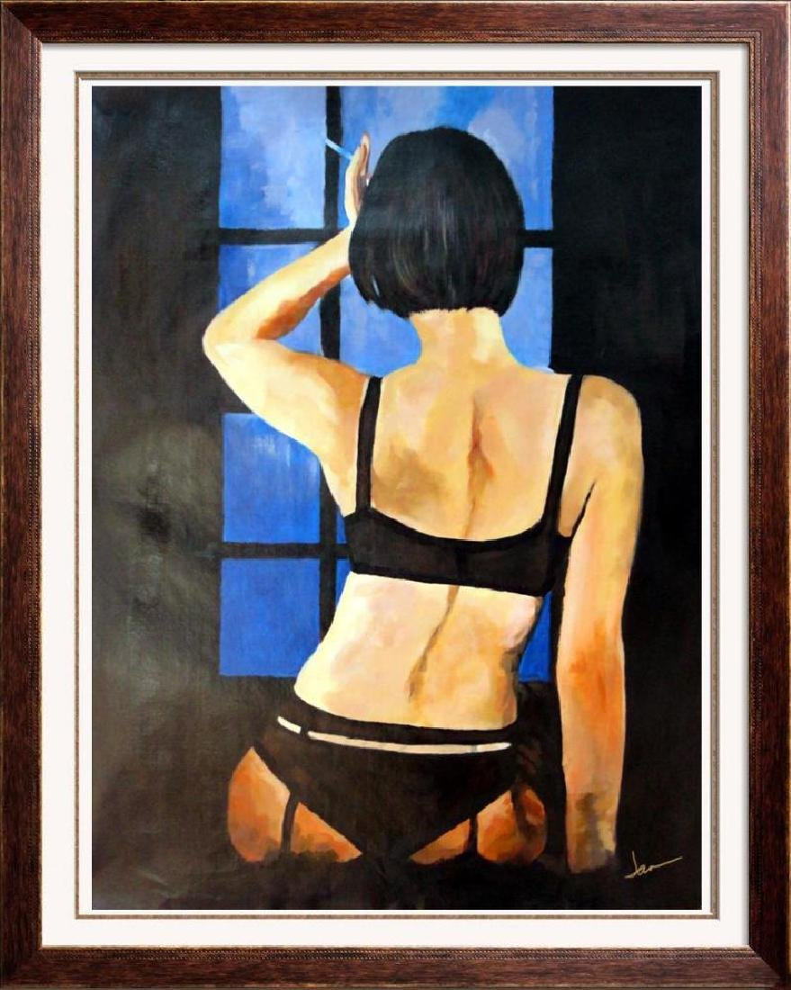 Private Dancer Nude Erotic Swahn Original Painting - 3